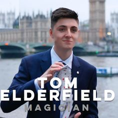 Tom's Elderfield has been seen by quite literally MILLIONS! He was presented the 'Young Close-up Magician of the Year' 2014 at The Magic Circle, and then having worked with some of the best magicians in the country, Tom was unanimously voted into The Magic Circle at just 18 having been proposed by DYNAMO himself.