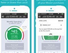 Moven iPhone app