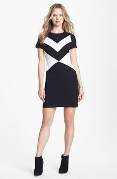 Vince Camuto Cap Sleeve Sheath Dress available at #Nordstrom