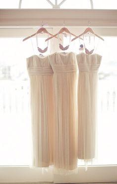 Bridesmaids Gowns by Vera Wang