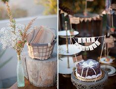 Estate Marsala Wedding - decoration and dessert