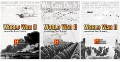 WWII Documentary advertising concept