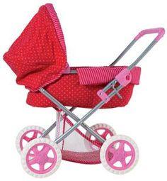 Complementos Muñecas - Carrito de muñecas rojo (+3 años) - Corolle - A Pita Cega