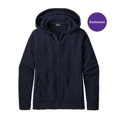W'S RECYCLED CASHMERE HOODY, Navy Blue (NVYB)
