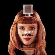 Rianne van Rompaey, Cindy Bruna, Sigrid Agren, Romy Schonberger by Jean Paul Goude for Chanel Chance Eau Vive 2015
