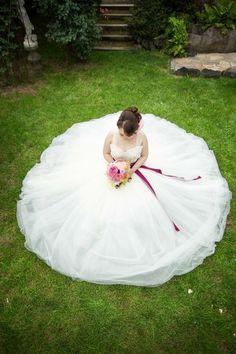 新郎新婦様からのメール 軽井沢の花嫁様から、7月、ロケフォト用のブーケに : 一会 ウエディングの花