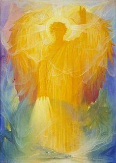 Io sono l'Arcangelo Michele   Chiunque utilizzi la pietra di questa grotta sarà guarito dalla peste.   Benedici le pietre e scolpiscivi il segno della Croce e le iniziali del mio nome.