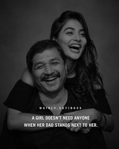 Father Daughter Love Quotes, Love Parents Quotes, Mom And Dad Quotes, My Children Quotes, Father Quotes, Tough Girl Quotes, Proud Quotes, Girl Power Quotes, Attitude Quotes For Girls