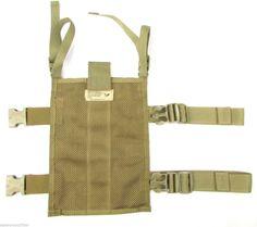 Eagle Allied Industries SFLCS Khaki SAS Drop Leg/Belt Molle Panel MBSS MBAV MLCS | eBay
