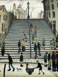 Step By Step Painting, Painting Steps, English Artists, Famous Artists, British Artists, Naive Art, Caravaggio, Urban Landscape, Art Auction