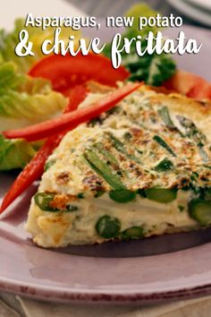 Looking for the perfect breakfast idea? Whether it's early morning or brunch, this asparagus, potato and chive frittata is an easy and healthy breakfast recipe. Perfect Breakfast, Breakfast Time, Healthy Breakfast Recipes, Brunch Recipes, Healthy Eating, Healthy Recipes, Breakfast Meals, Breakfast Casserole, Healthy Snacks