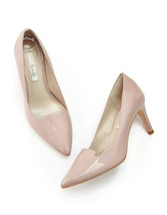 BODEN   Jackie Heels in vintage rose   Patent leather upper, leather lining and sole   £99