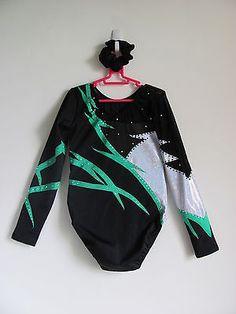 Child-Gymnastics-Leotard-Ballet-Leotard-Bodysuit-Dancewear-Size-child-12