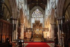 selby abbey -  the chancel