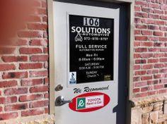 When you walk through this door, you're family!  http://solutionsautomotive.com/