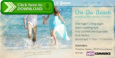 [ThemeForest]Free nulled download On Da Beach - Wedding WordPress Theme from http://zippyfile.download/f.php?id=24176 Tags: beach wedding, clean, engagement, gift registry, masonry, pastel, perfect couple, perfect wedding, prewedding, rsvp, vintage, wedding gallery, wedding place, wedding registry, wedding timeline