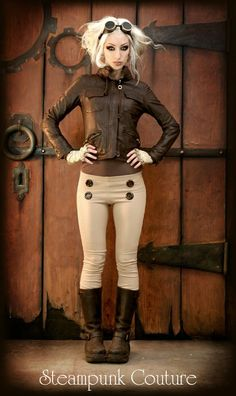 Steampunk Couture..love the jacket.  Kato always awesome!