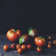 Hello October, so long tomatoes  Thx for sharing your shot of these beauties @valrizzo #EBdailypic
