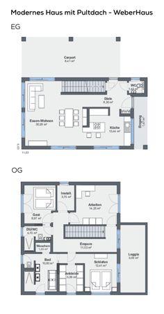 261 best Grundriss Einfamilienhaus images on Pinterest | Ground ...