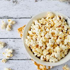 Sweet & Spicy Wasabi Popcorn. How to pop corn the old school way...with new school flavors.