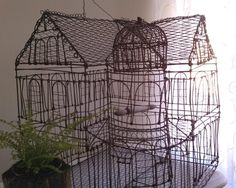 Large Wire Birdcage
