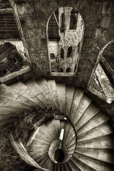 Escher-like stairs