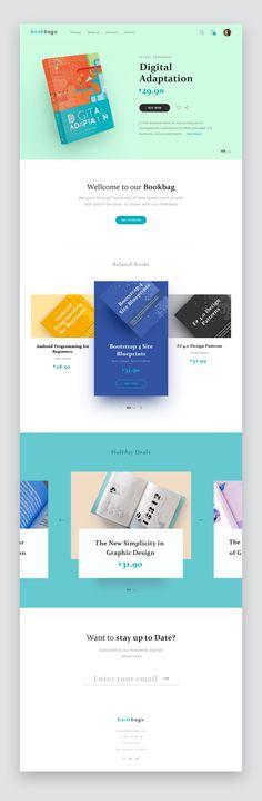 Bookbag homepage