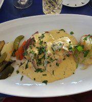 Les Delices De France Places To Eat, Restaurant, France, Chicken, Meat, Food, Eten, Restaurants, Meals