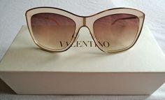 BRAND NEW Valentino Cat Eye Sunglasses On www.FullCircleFashion.com Circle Fashion, Designer Resale, Cat Eye Glasses, Sunnies, Eyeglasses, Valentino, Buy And Sell, Shades, Brand New