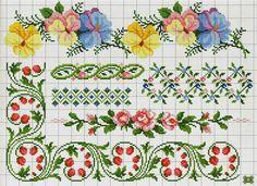 barrados flores - Ponto Cruz Lindos