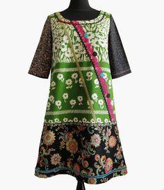 Robe trapèze rétro et originale Aboundance robe par Pscendrillon
