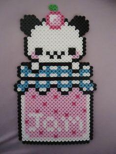 Jamming Panda by PerlerHime on deviantART