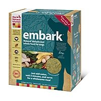 Embark Natural Dog Food: Grain-free, low carbohydrate food for all stages of your pup's life!