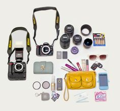"violet short photography - ""what's in my camera bag."""