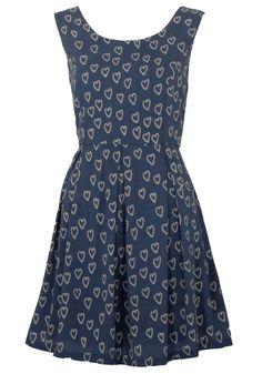 Mela Heart Print Dress