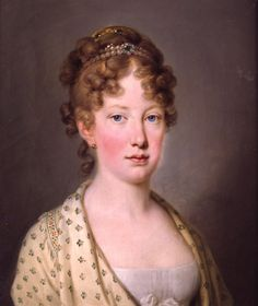 S.A. Leopoldina de Habsburgo-Lorena, Imperatriz do Brasil, 1817 - HIM Empress Leopoldina of Brazil, 1817