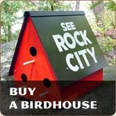 Like the sign says, ya' gotta see Rock City on Lookout Mountain at least once before you die. Crazy good!!