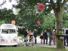 Florence our VW ice cream camper at a beautiful wedding.....♡