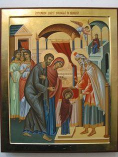Sfanta Fecioara Maica Domnului: Intrarea in Biserica a Maicii Domnului 2