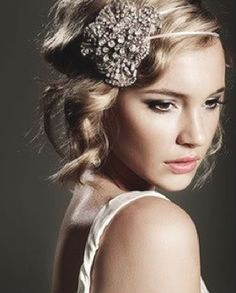 How I want my hair for the wedding :)