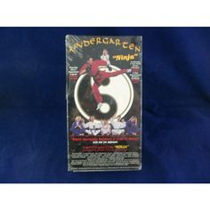 Kindergarten Ninja 1995 Red VHS Tape Dwight Clark George Chung Anthony Chan  #KindergartenNinja #Kindergarten #Ninja #Rare #OOP #New #VHS #Video #Movie #DwightClark #GeorgeChung #AnthonyChan #eBid