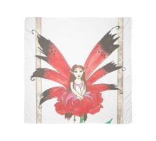 Rose Secret Fairy Scarf Canvas Prints, Framed Prints, Art Prints, Buy Roses, Watercolor Illustration, Art Boards, Wearable Art, Wall Tapestry, Decorative Throw Pillows