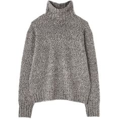 WOOL CASHMERE | ONLINE STORE |  MARGARET HOWELL ($205) ❤ liked on Polyvore featuring tops and sweaters