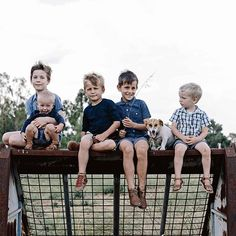 """Running a small business in rural Australia is hard. Running it while raising five boys is an amazing feat! You'll be as impressed as we were reading our #campaignforcountry story on Dubbo NSW-based couple Bede and Jemima Aldridge who handcraft beautifully practical leather goods for their brand and retail space @saddlerandco and hope to one day pass the business onto their sons. """"I'd love all of my boys to work with me at some point"""" says Bede. """"I'd like to get that first opportunity to…"""