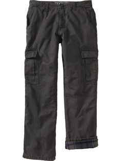 32L 40 W - Flannel Lined Cargo Pants - Great for Winter