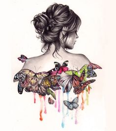 The Butterfly Effect by Kate Powell. via  http://whodesignedit.net/)