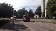 TS 7233 en HV 9170 onderweg gaslek Vijverberg Bergen op Zoom (+afspeelli...