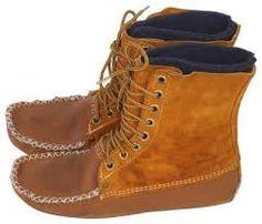 mocassin boot