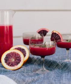 blood orange margaritas | fiesta | margaritas | cocktails | easy entertaining