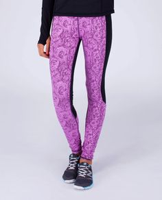 run in chilly weather in these pants body–mapped with cozy Rulu™ fabric in the front to help keep your legs warm. Athletic Outfits, Athletic Wear, Athletic Clothes, Fitness Fashion, Fitness Clothing, She Is Clothed, Girls Pants, Sport Wear, Ice Skating